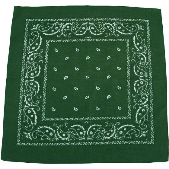 MFH Halsduk Bomull - OD Grön