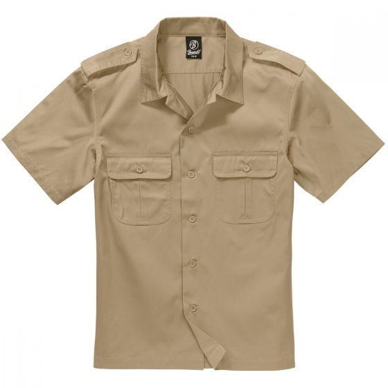 Brandit US Kortärmad Skjorta - Beige