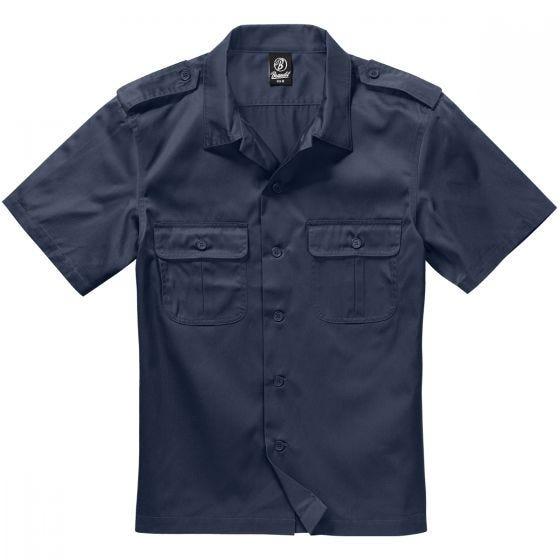 Brandit US Kortärmad Skjorta - Navy