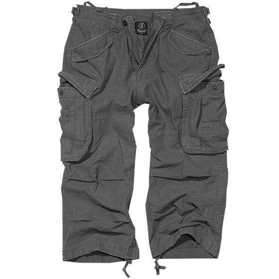 Brandit Industry Vintage 3/4 Shorts - Antracit