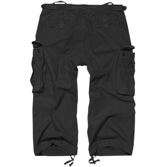 Brandit Industry Vintage 3/4 Shorts - Svart