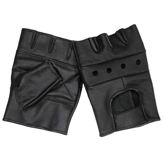 MFH Deluxe Läderhandskar - Svart
