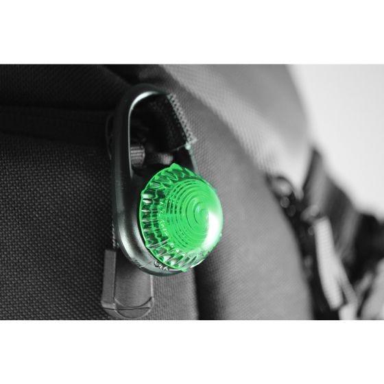 Adventure Lights Guardian Tag-It Kläm-på Lampa - Grön