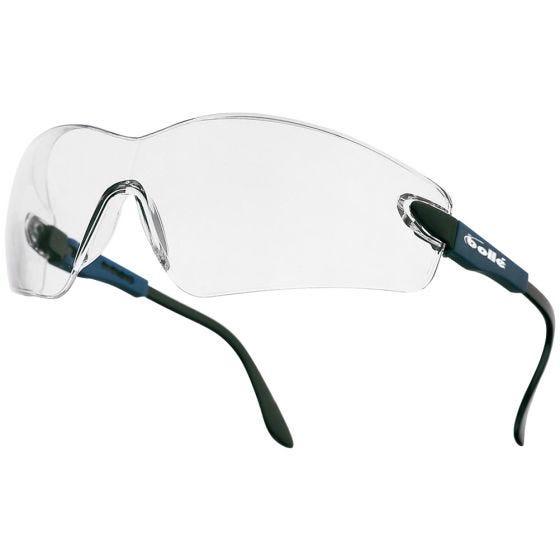 Bolle Viper II Glasses Clear Electric Blue Frame