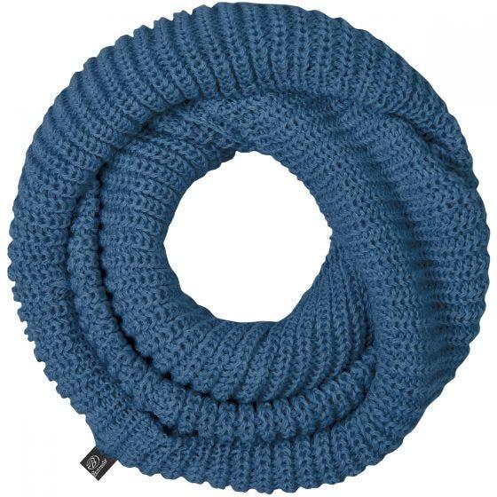 Brandit Lång Stickad Scarf - Denim Blue