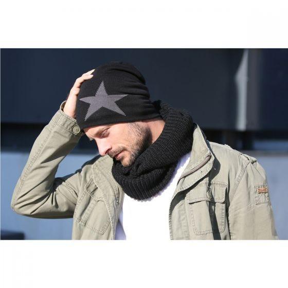 Brandit Star Beanie-keps - Svart