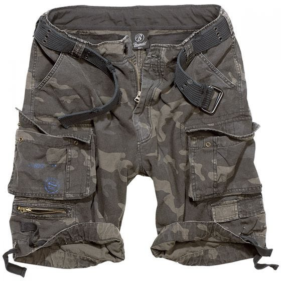 Brandit Savage Vintage Shorts - Dark Camo
