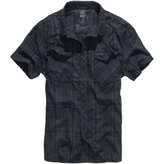 Brandit Roadstar Skjorta - Svart/Blå