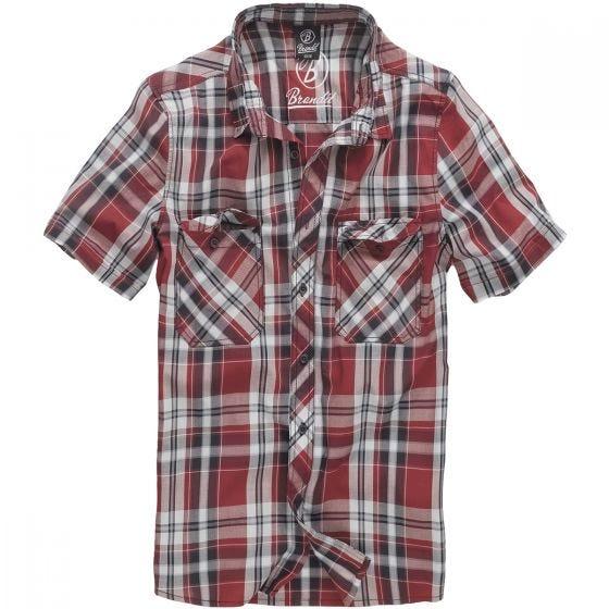 Brandit Roadstar Skjorta - Röd
