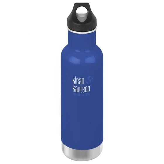 Klean Kanteen Classic Loop Cap Isolerad Flaska 592 ml - Coastal Waters