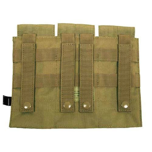 MFH M4/M16 MOLLE Trippel Magasinficka - Coyote