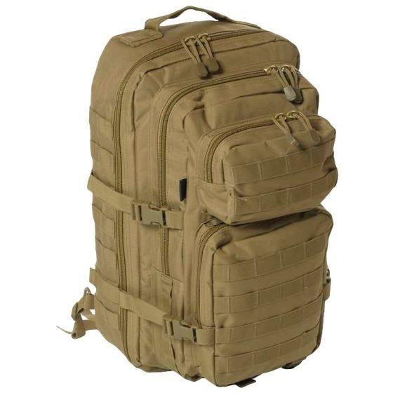 Mil-Tec Stort Attackpack med En Rem - Coyote