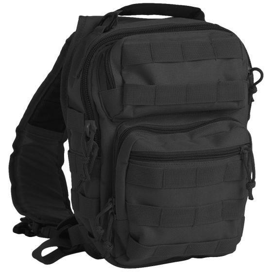 Mil-Tec Liten En-rem Attackpack - Svart