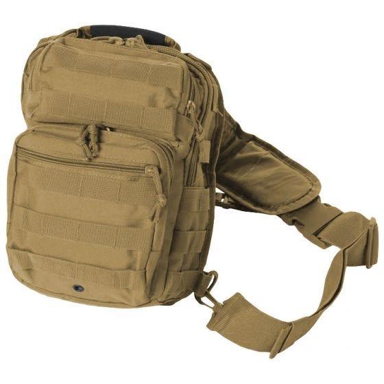 Mil-Tec Liten En-rem Attackpack - Coyote