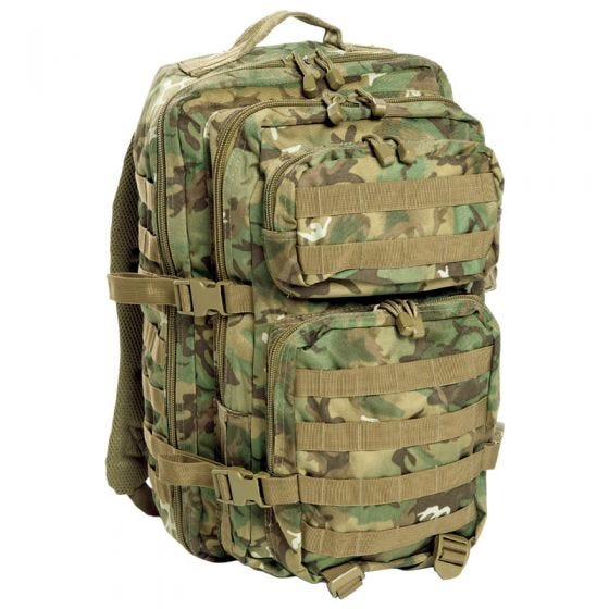 Mil-Tec MOLLE US Stor Attackpack Arid Woodland