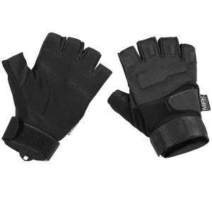 MFH Protect Tactical Handskar utan Fingrar - Svart