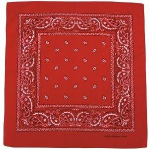 MFH Halsduk Bomull - Röd