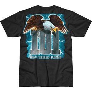 7.62 Design Army 101st Airborne Screaming Eagle Battlespace T-shirt Svart