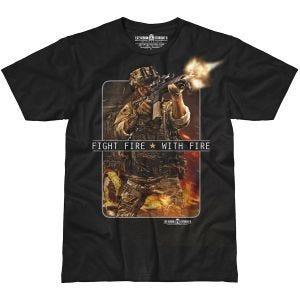 7.62 Design Fight Fire With Fire T-shirt Svart