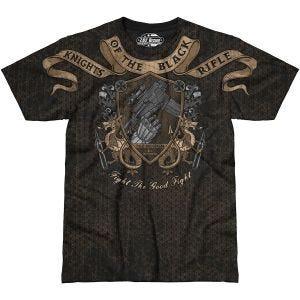 7.62 Design Knights Of The Rifle T-shirt Svart