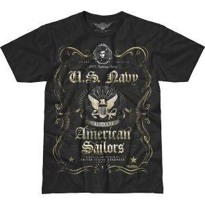 7.62 Design USN Fighting Spirit Battlespace T-shirt Svart