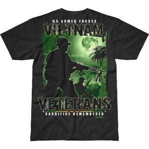7.62 Design Vietnam Veterans Remembered Battlespace T-shirt Svart
