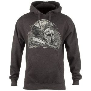 7.62 Design With Your Shield Munktröja Charcoal Heather