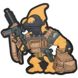 Patchlab Chameleon Firearm Instructor Märke - Svart/Gul