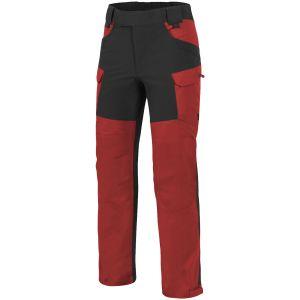 Helikon Hybrid Outback Pants DuraCanvas Crimson Sky / Black