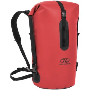 Highlander Troon Drybag 45L Duffle Bag Red