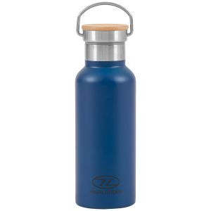Highlander Campingflaska 500 ml - Blå
