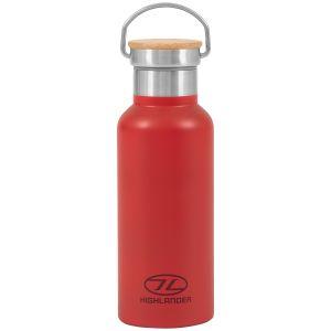 Highlander Campingflaska 500 ml - Röd