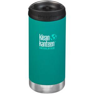 Klean Kanteen TKWide Cafe Cap Isolerad Flaska 355 ml - Emerald Bay