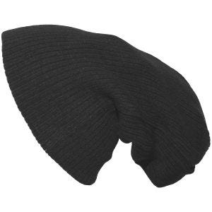 Pro Company Extra Lång Stickad Beanie-hatt - Svart