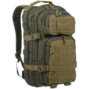 Mil-Tec US Liten Attackpack - Ranger Green/Coyote