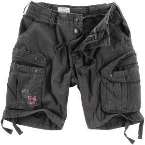 Surplus Airborne Vintage Shorts - Tvättad Svart