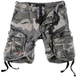 Surplus Airborne Vintage Shorts - Tvättad Night Camo