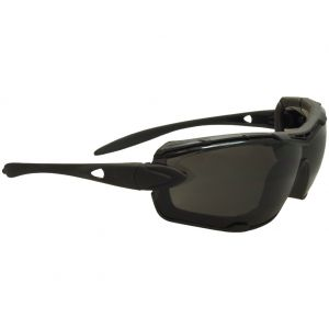 Swiss Eye Detection Sunglasses - Smoke + Clear Lens / Rubber Black Frame