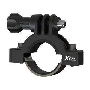 """Xcel Fäste för Aktion Kamera 0,91"""" till 1,38"""" Diameter - Svart"""