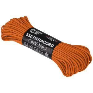 Atwood Rope 550 Fallskärmslina 100 ft - Orange