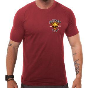 7.62 Design USMC Devil Dog T-shirt Röd