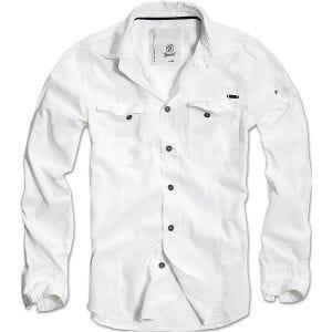 Brandit SlimFit Skjorta - Vit