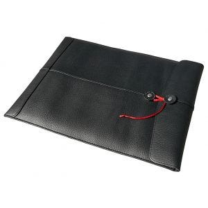"Civilian Pro Manila-15 MacBook Pro 15"" Laptopfodral i Läder - Svart"
