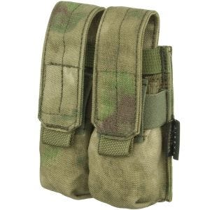 Flyye Ver. FE Dubbel Magasinficka 9 mm MOLLE - A-TACS FG