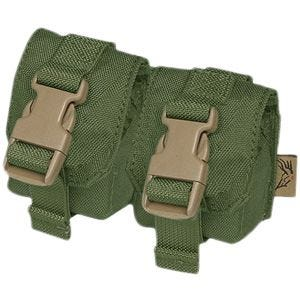 Flyye Double Fragmentation Grenade Pouch Olive Drab
