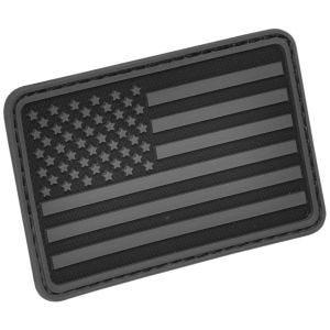 Hazard 4 USA Flag Left Arm Moralmärke - Svart