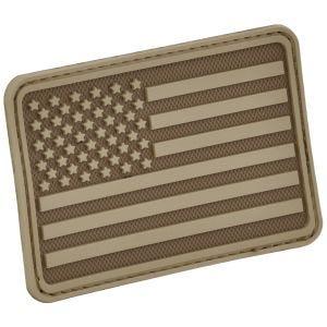 Hazard 4 USA Flag Left Arm Moralmärke - Coyote