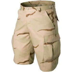Helikon BDU Genuine Shorts Bomull Ripstop - 3-Colour Desert