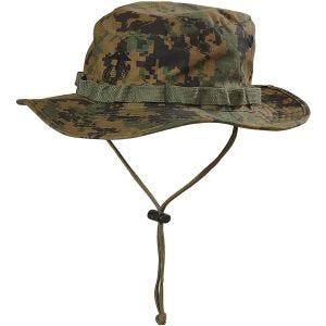 Helikon USMC Bonnie-hatt - Digital Woodland