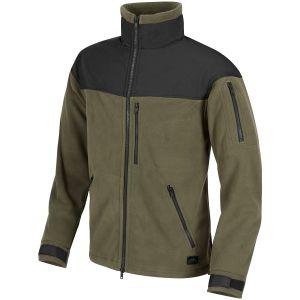 Helikon Classic Army Fleece - Olivgrön/Svart